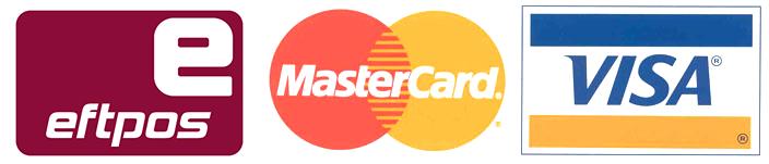 Eftpos, Mastercard, Visa